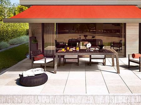 BV Rollladen + Sonneschutz Pressefoto Qualitätsmarkise