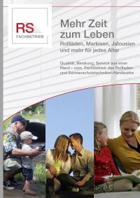 Flyer 'Mehr Zeit zum Leben' (VE 100)