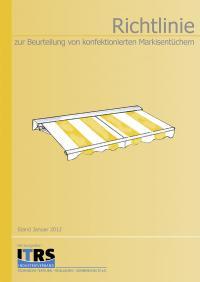 Richtlinie zur Beurteilung von konfektionierten Markisentüchern