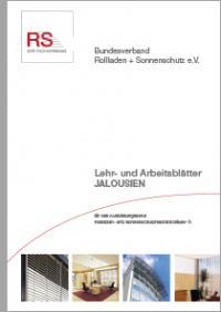 Lehr- und Arbeitsblätter Jalousien